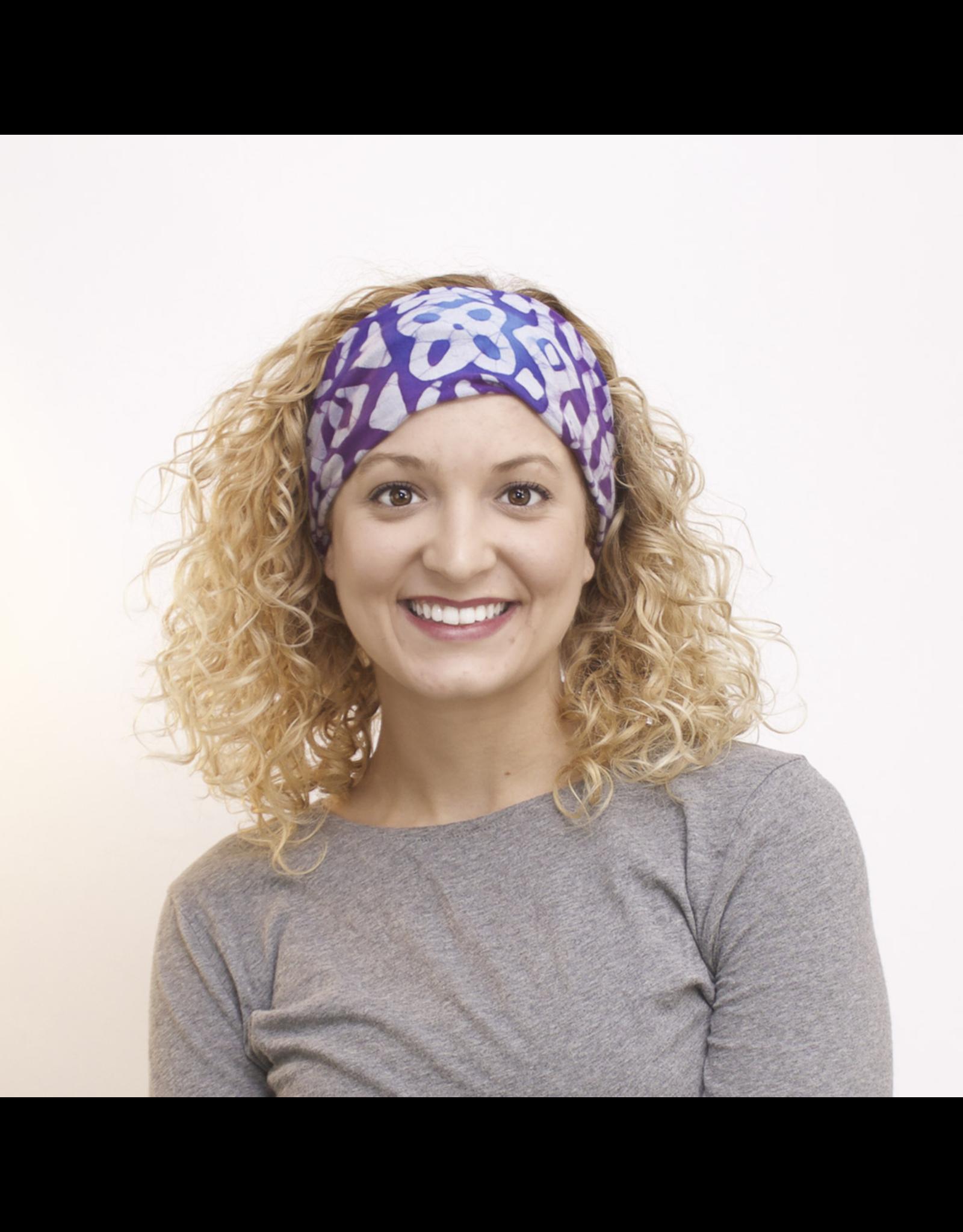 Su Placer Wide Headband Scarf