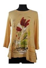 Jess & Jane 100% Cotton w/Contrast Tunic