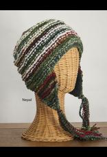 The Sweater Venture Boucle Fleece Lined Chilean Flap Cap