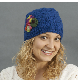 The Sweater Venture Cap w/Flower - P-16486