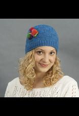 The Sweater Venture Cap w/Flower - P-16486