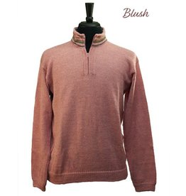 The Sweater Venture Alpaca Quarter Zip w/ Fleece Collar