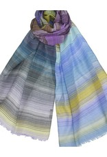 Dupatta Cotton Guaze w/Thin Stripes