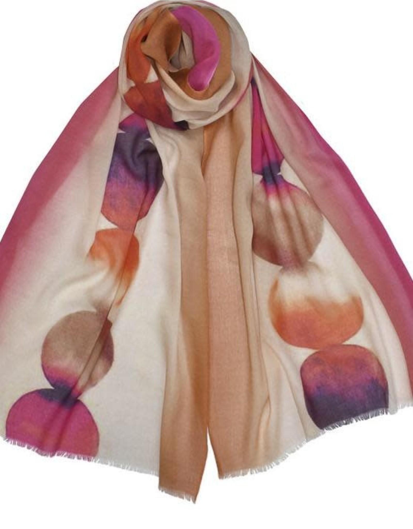 Dupatta Cotton/Modal Watercolor Scarf