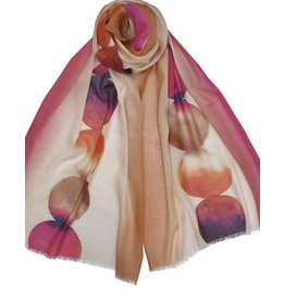 Dupatta Cotton/Modal Watercolor Scarf