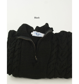 The Sweater Venture Cable 1/4 Zip Highneck