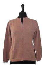 The Sweater Venture Shaped Alpaca ZipUp
