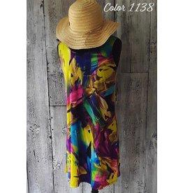 Print Dress - P-19144