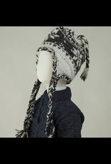 The Sweater Venture Children's Snowflake Fleece Lined Flap Cap