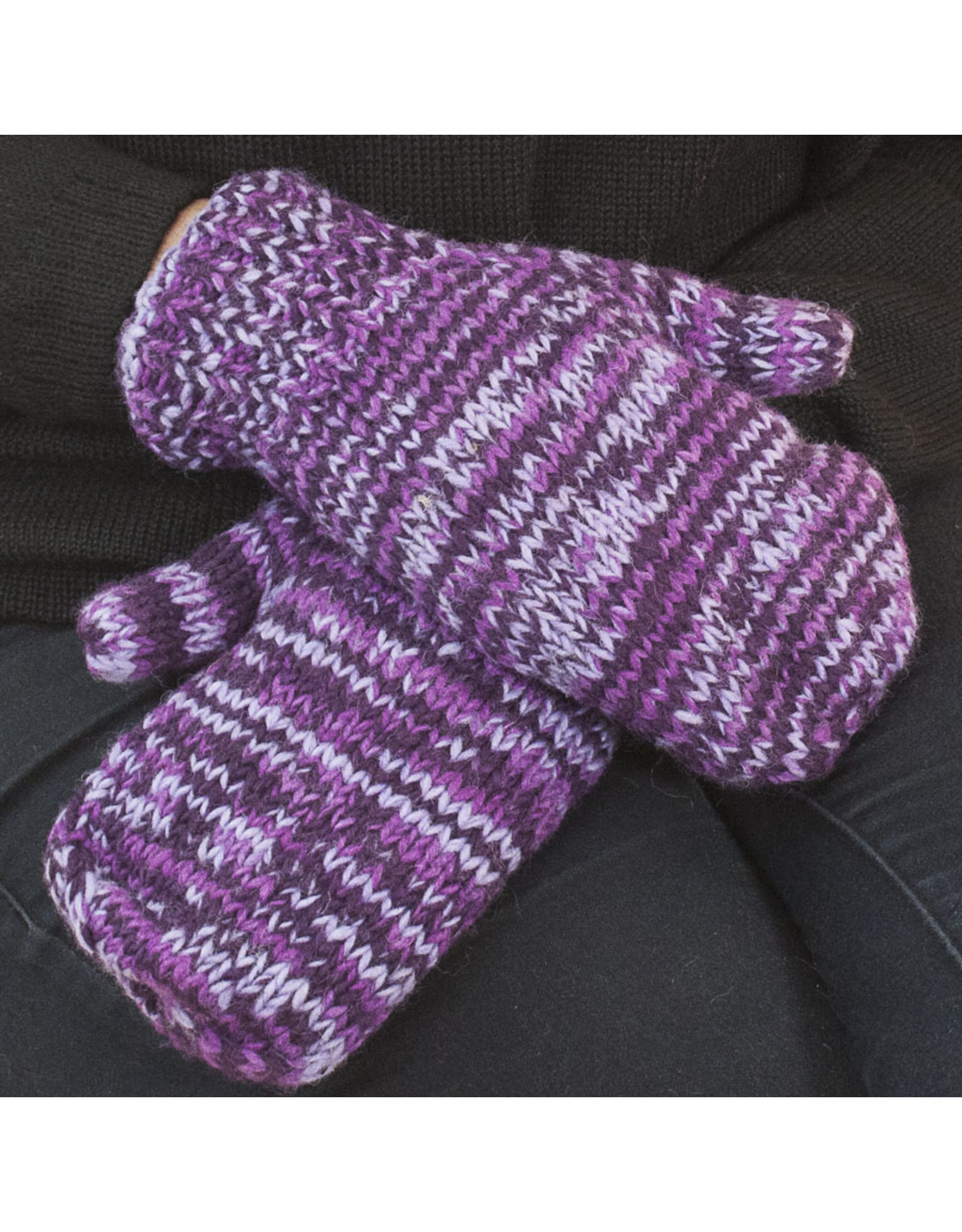 The Sweater Venture Snowfox Fleece Lined Mittens