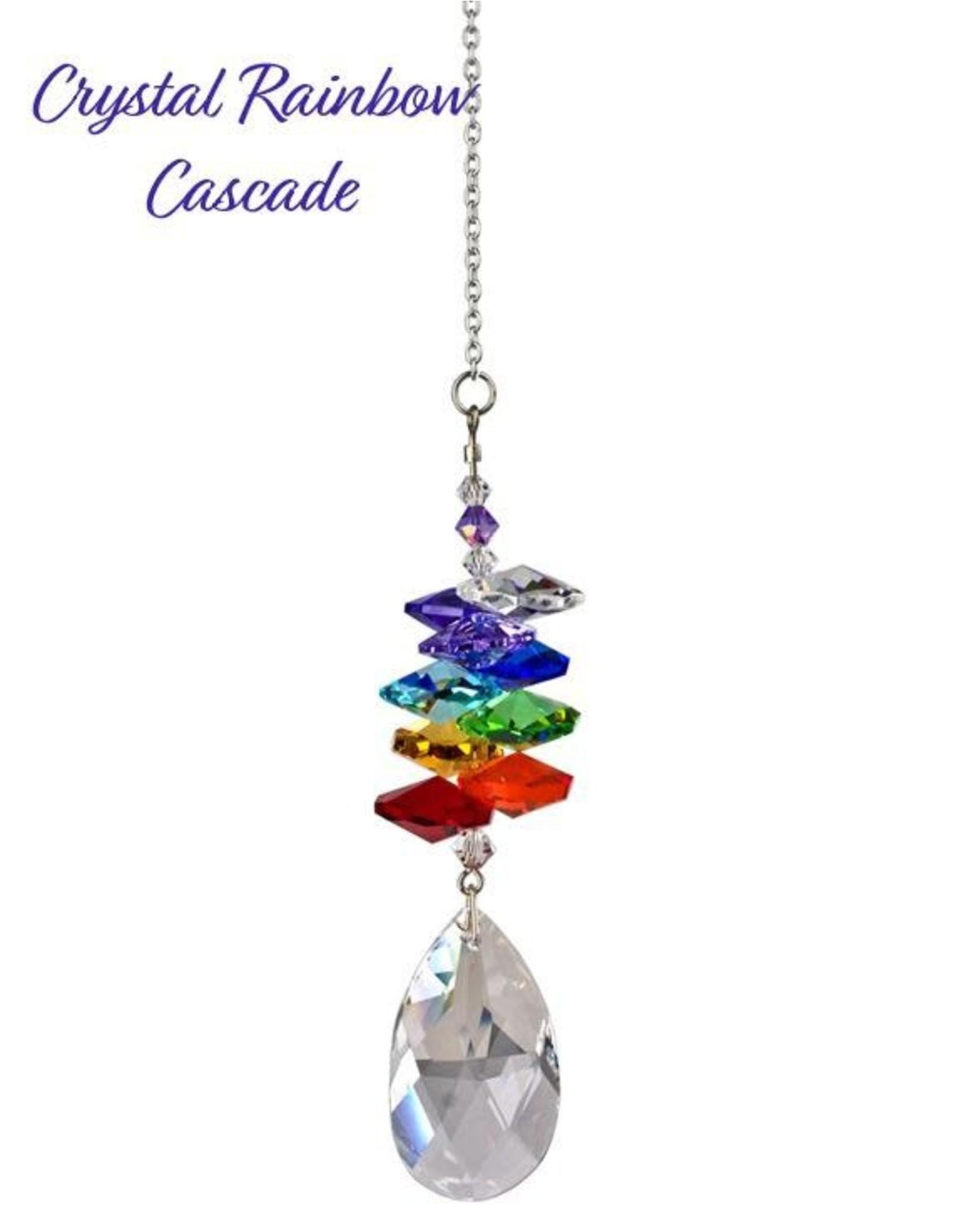 Woodstock Percussion Crystal Rainbow Cascade Almond