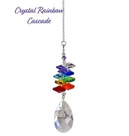 Woodstock Percussion Crystal Rainbow Cascade Almond