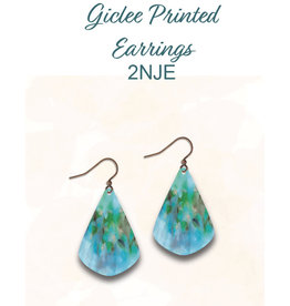 Illustrated Light Illustrated Light Giclee Earrings