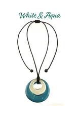 ORIGIN Double Circle Necklace/Pendant
