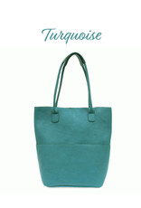 Joy Accessories Front Pocket Tote