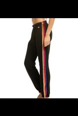 Aviator Nation Velvet Stripes Sweatpant