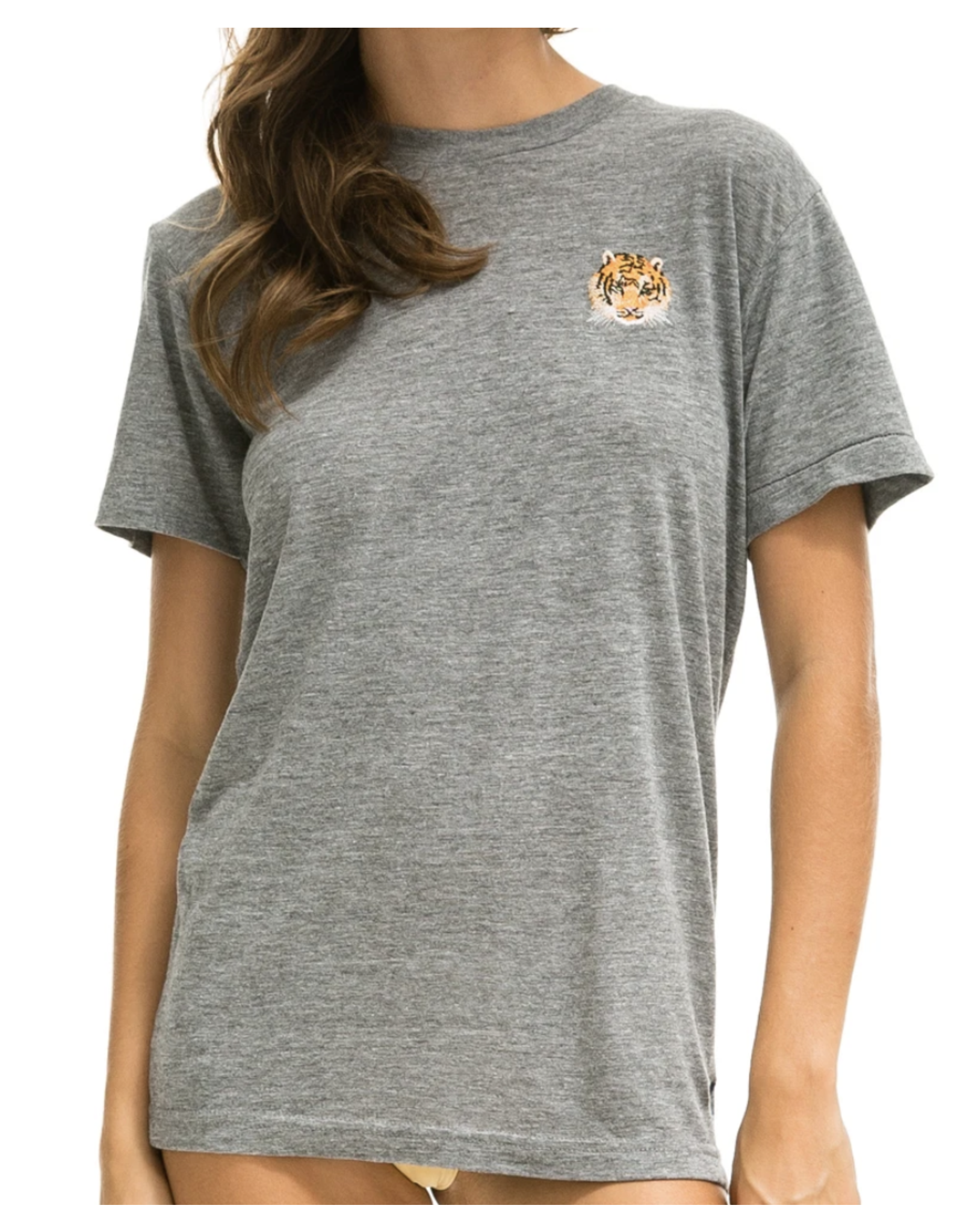 Aviator Nation Tiger Embroidery Tee