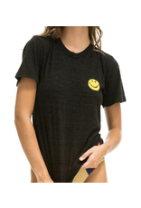 Aviator Nation Smiley Stitch Tee