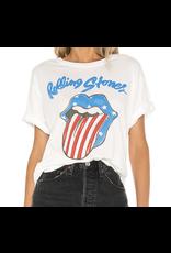 Daydreamer Rolling Stones Stars And Stripes Boyfriend Tee