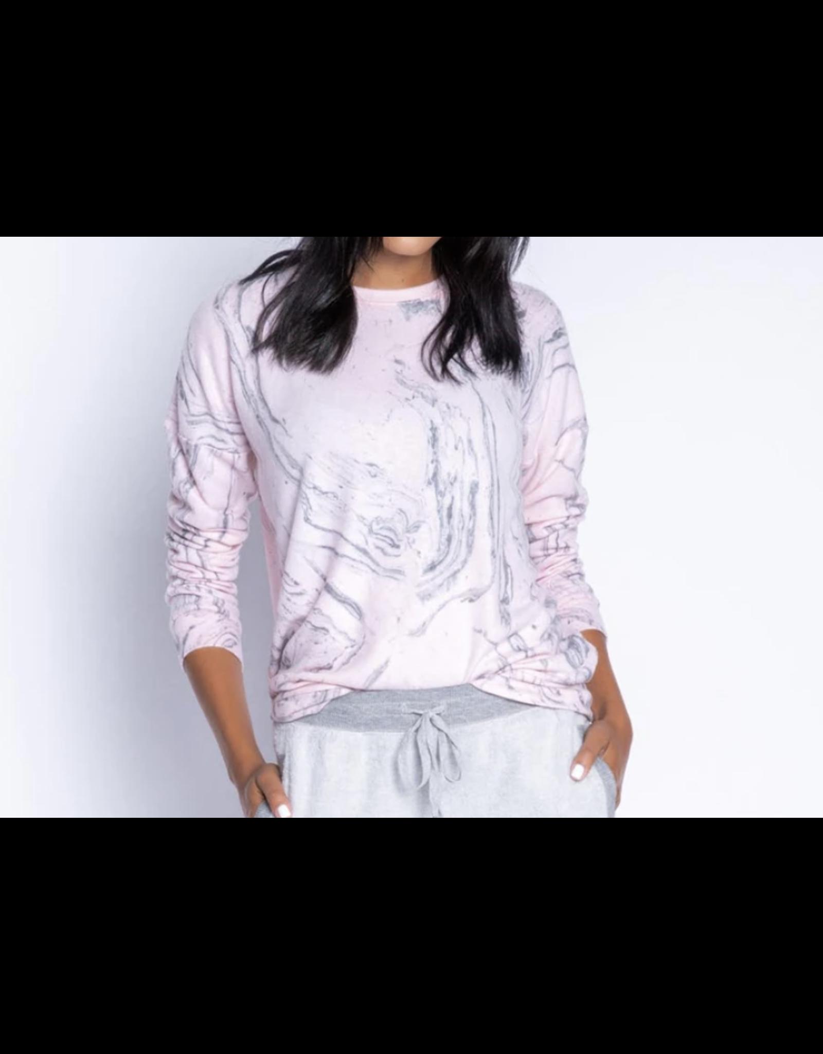PJ Salvage Pink Marble