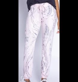 PJ Salvaje Pink Marble Pants