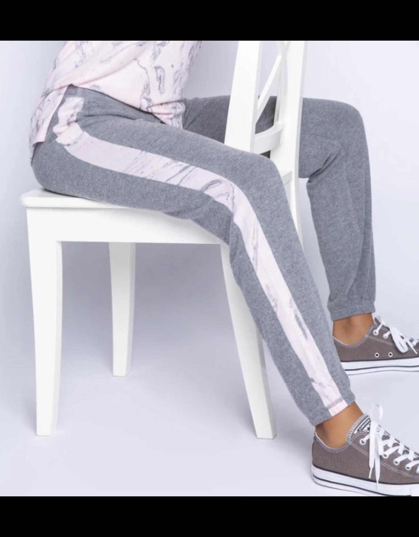 PJ Salvage Marble Banded Pants