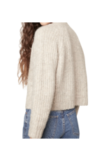 BB Dakota Heather Almond Cardigan