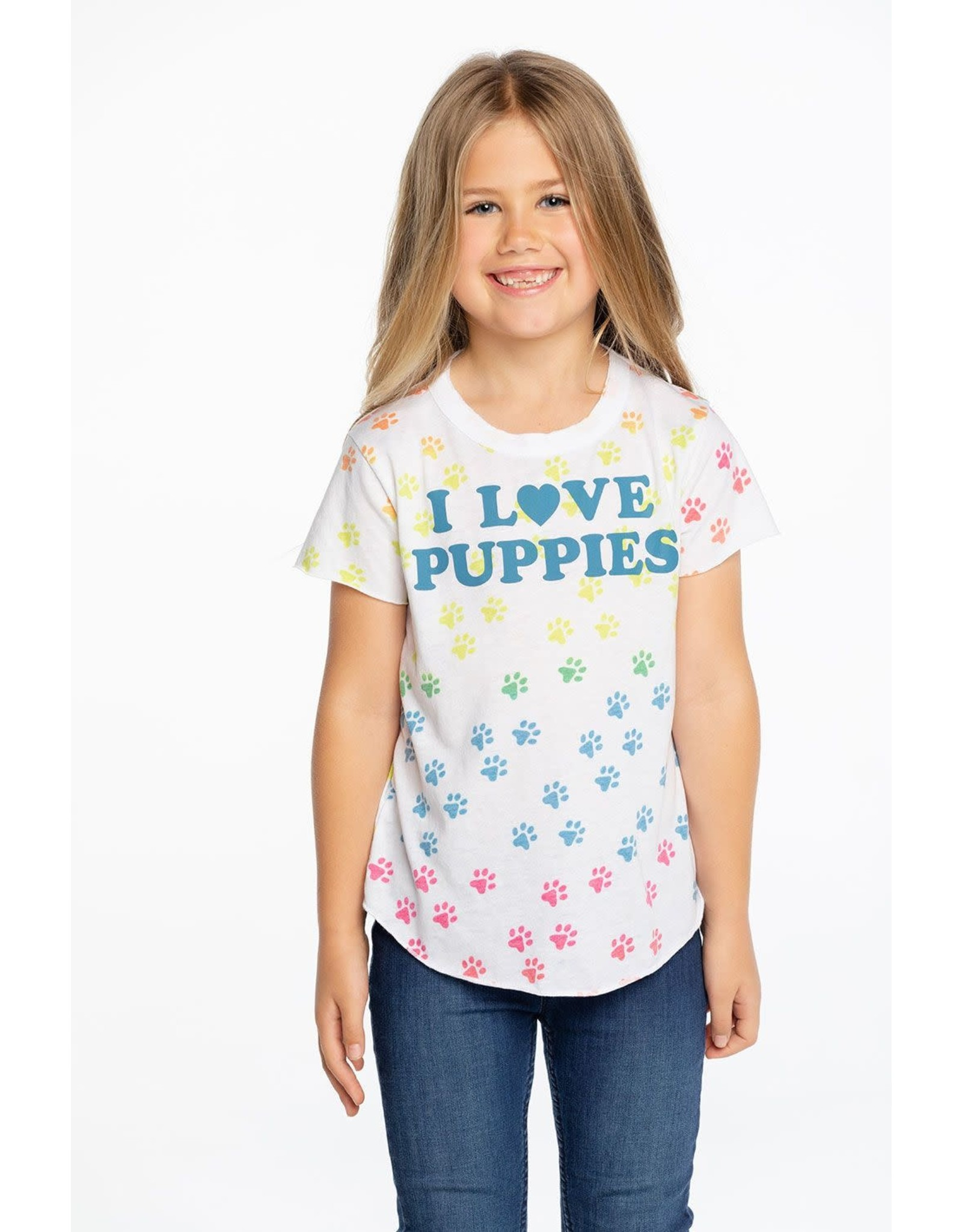 Chaser Chaser Puppies Shirttail Tee