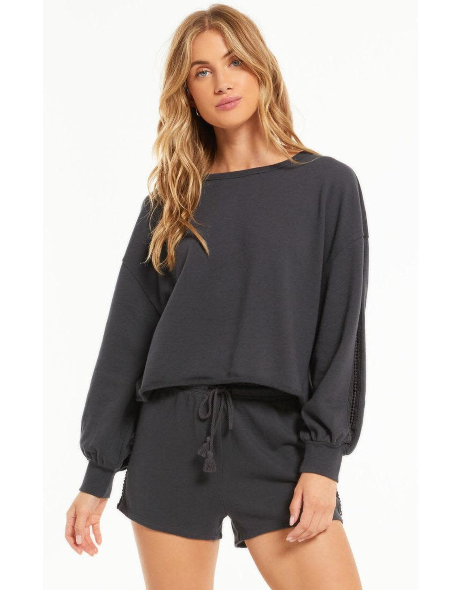 Z supply ZS High Tide Terry L/S Top