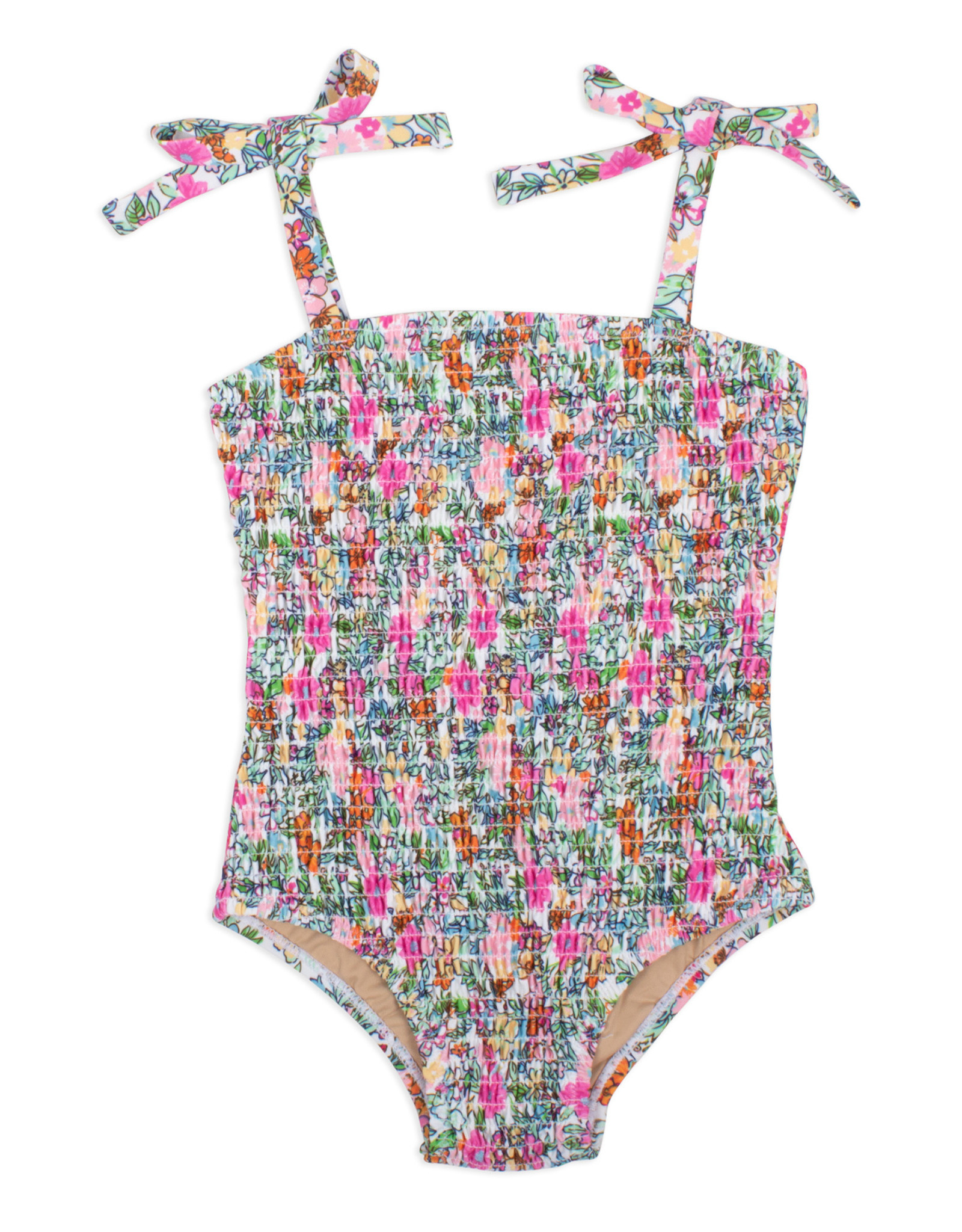 shade critters Smocked Swim One Piece