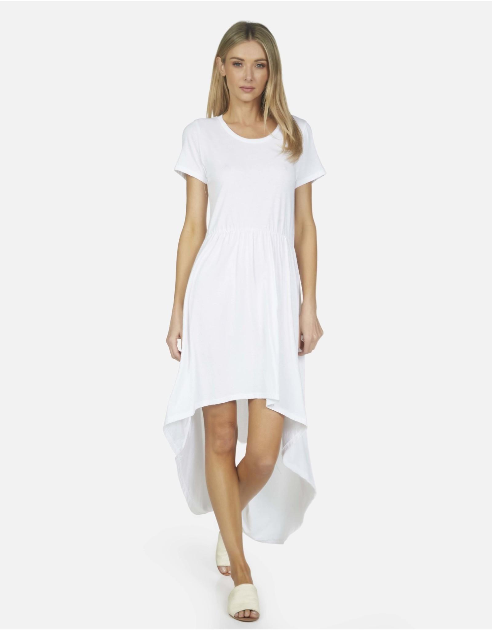 Michael Lauren ML Cornelius Hi Low Dress