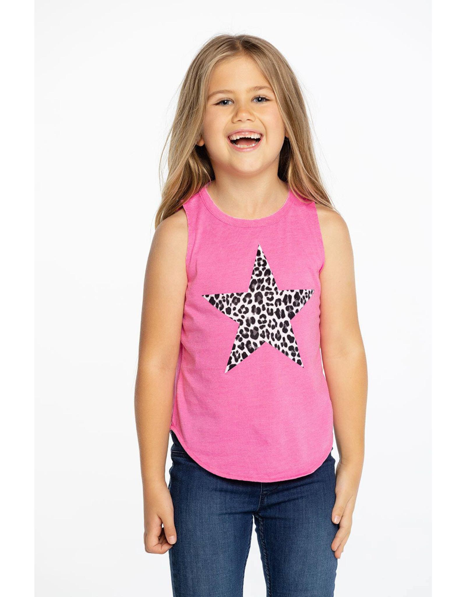 Chaser Animal Star Girls Tank