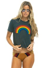 Aviator Nation AN BF Tee - Big Rainbow