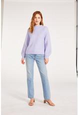 BB mock neck knit sweater