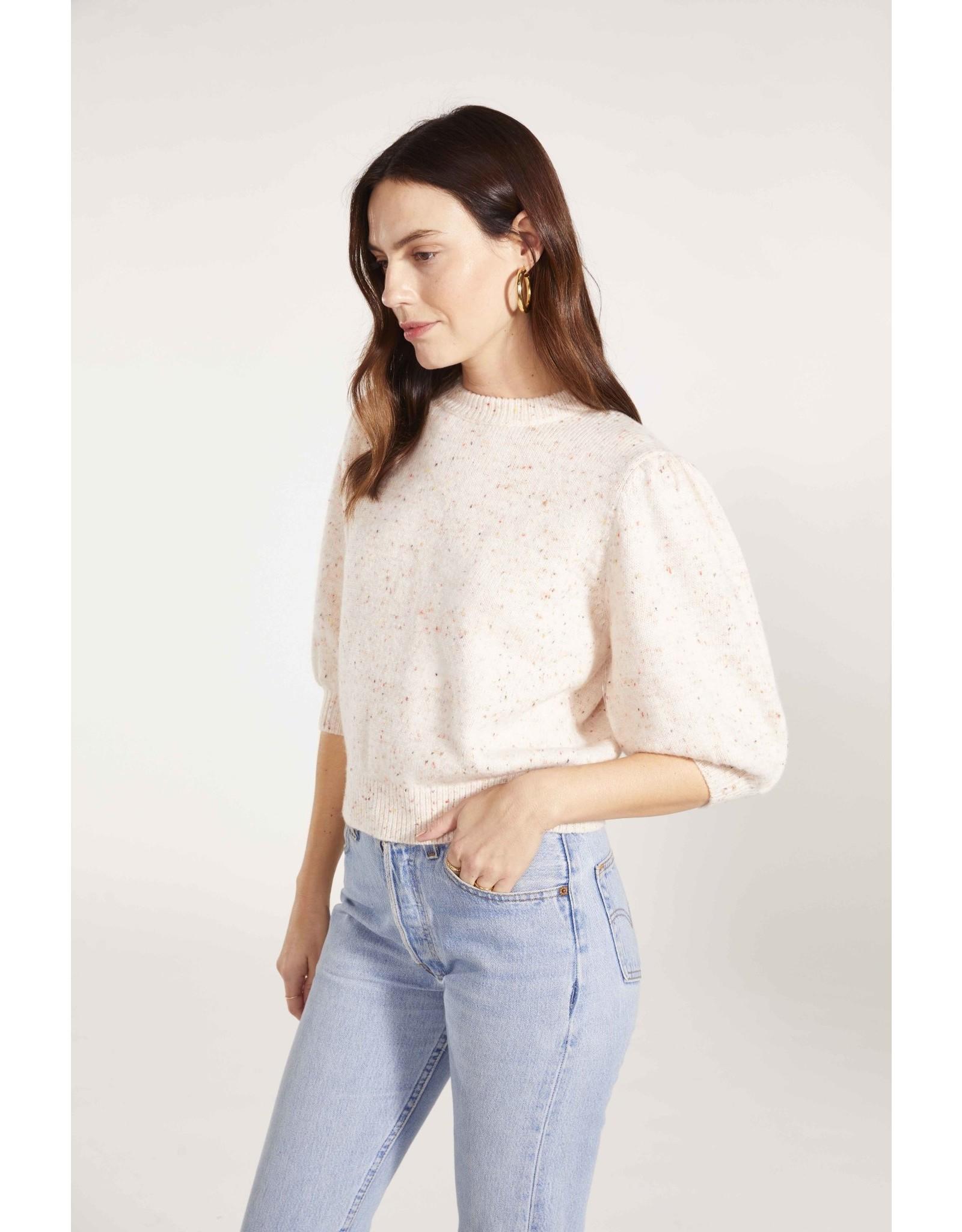 BB Mock Speckle Sweater