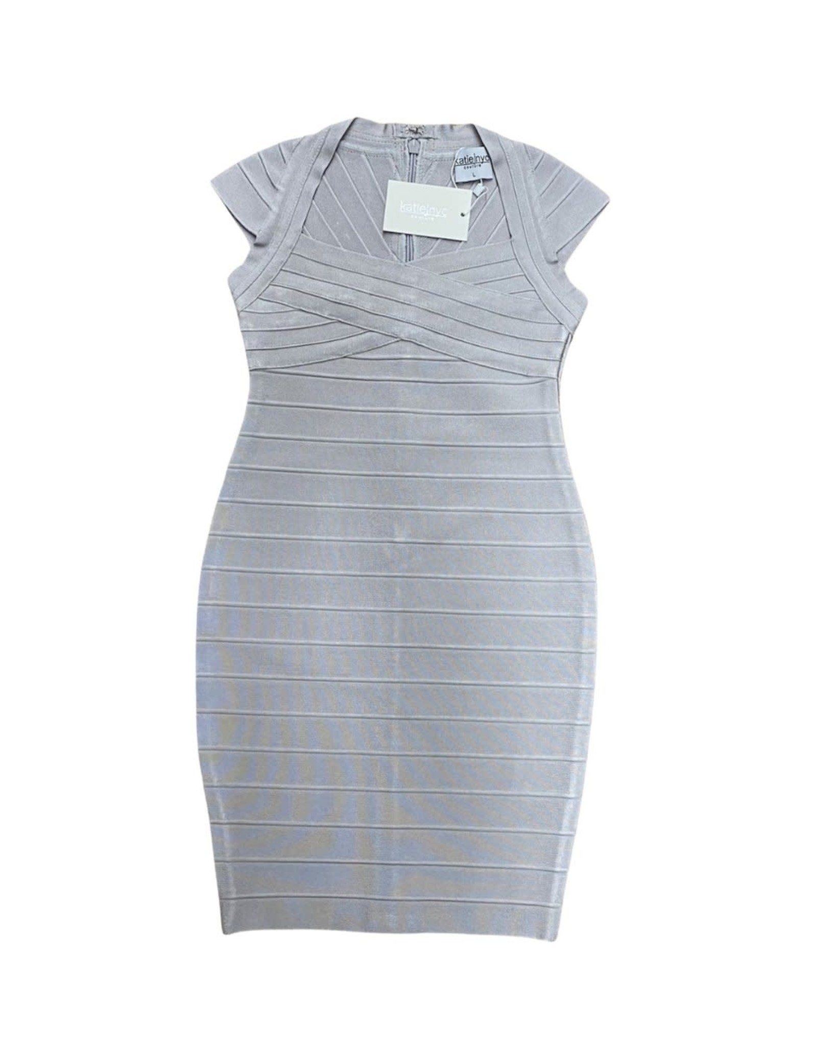 KATIEJNYC KJ Cap Sleeve Bandage Dress