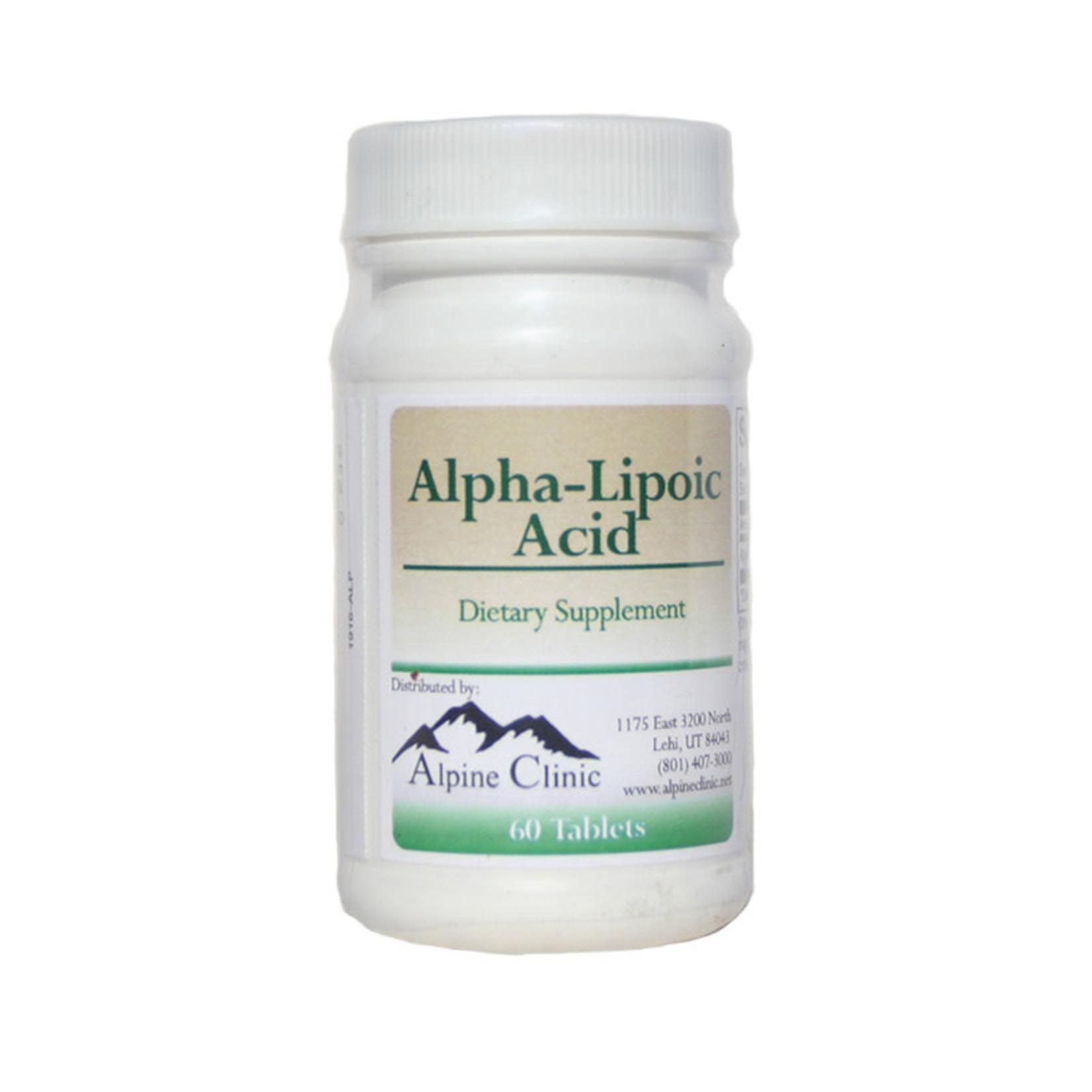 Alpine Clinic PL Alpha-Lipoic Acid
