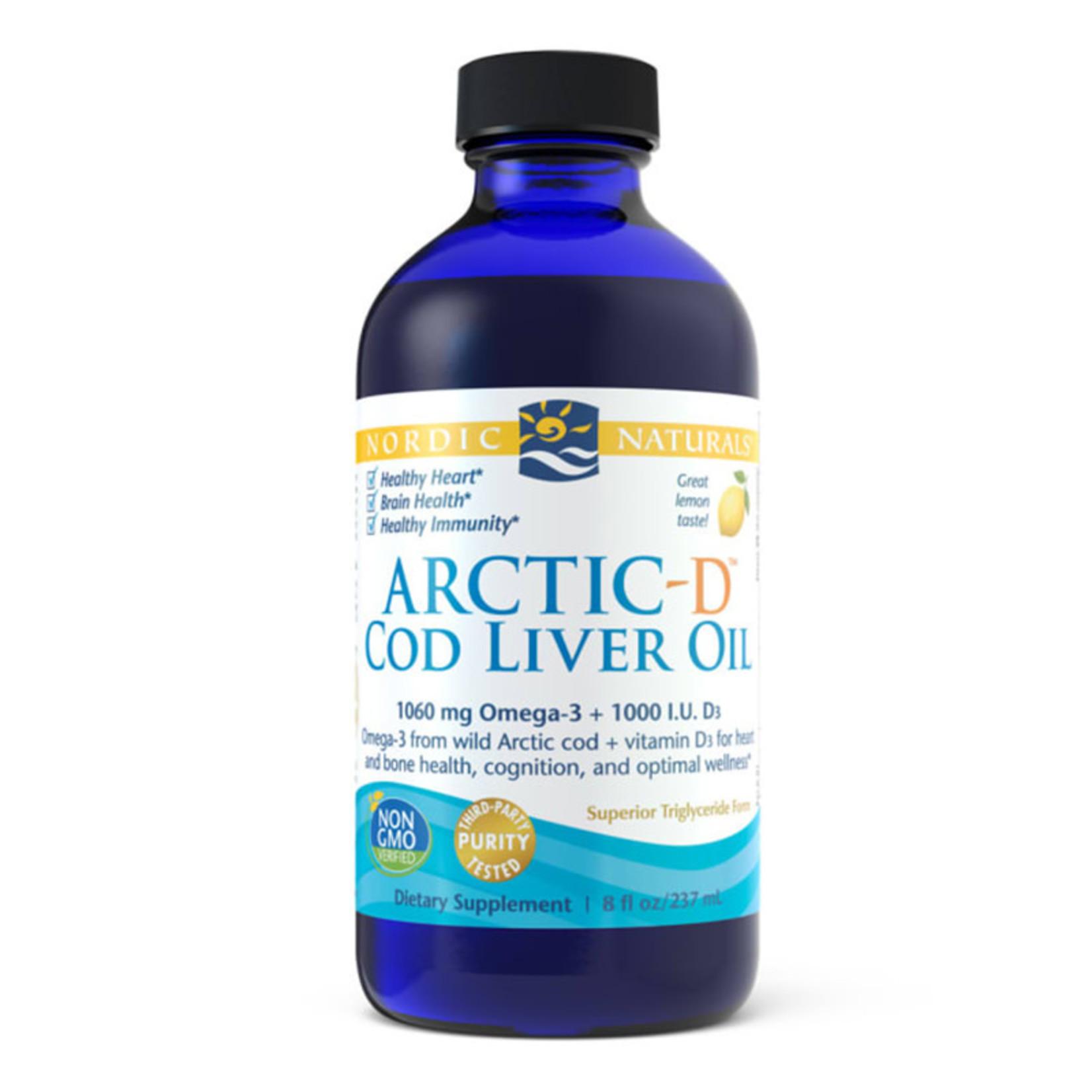 Arctic-D Cod Liver Oil - 8 oz.