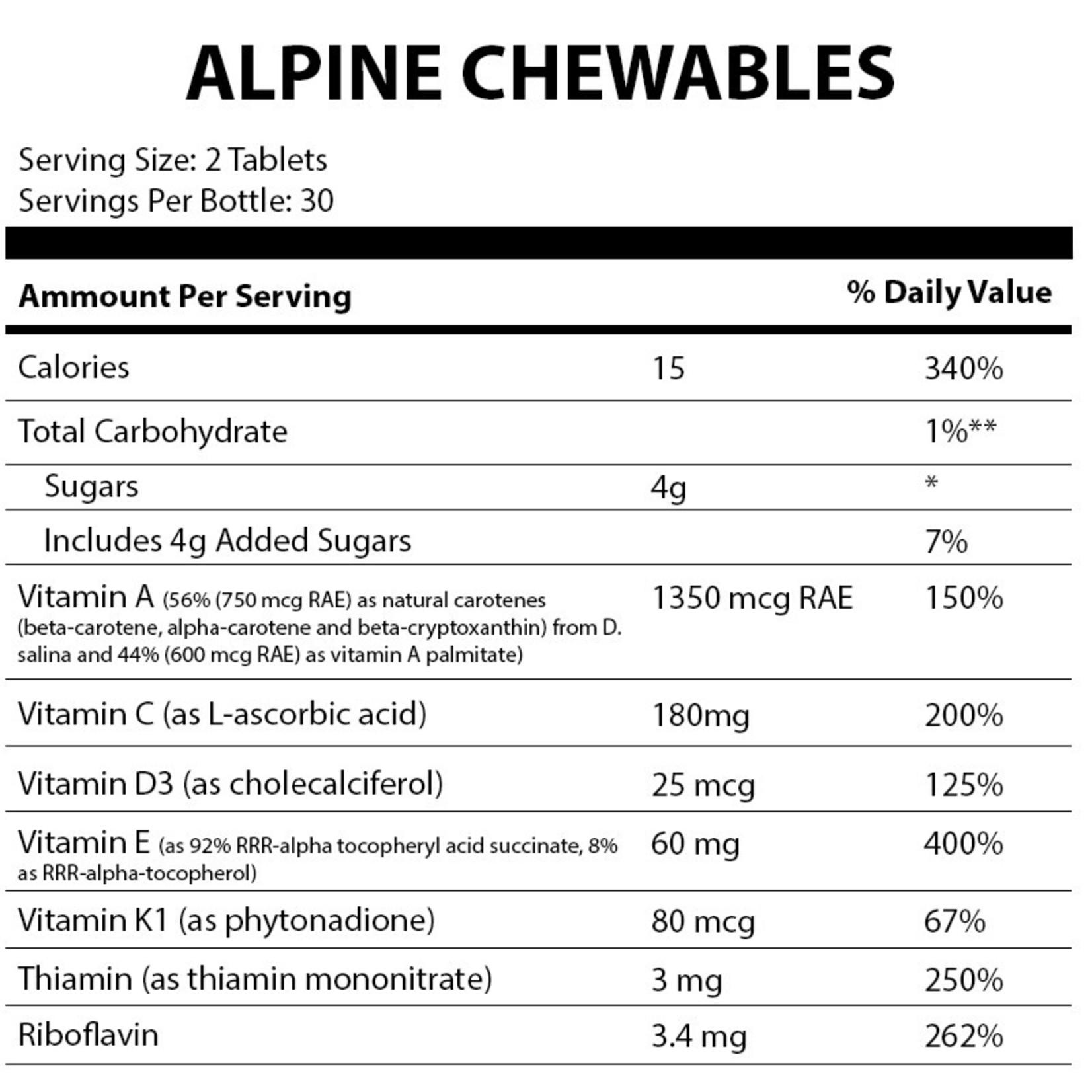 Alpine Clinic PL Alpine Chewables