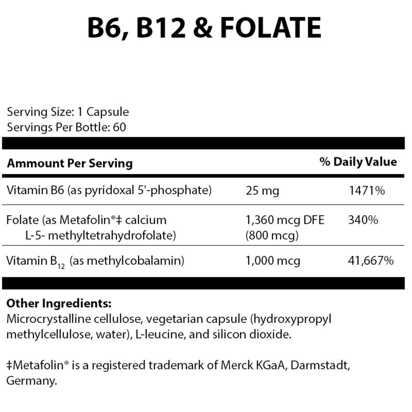 Alpine Clinic PL B6, B12 and Folate