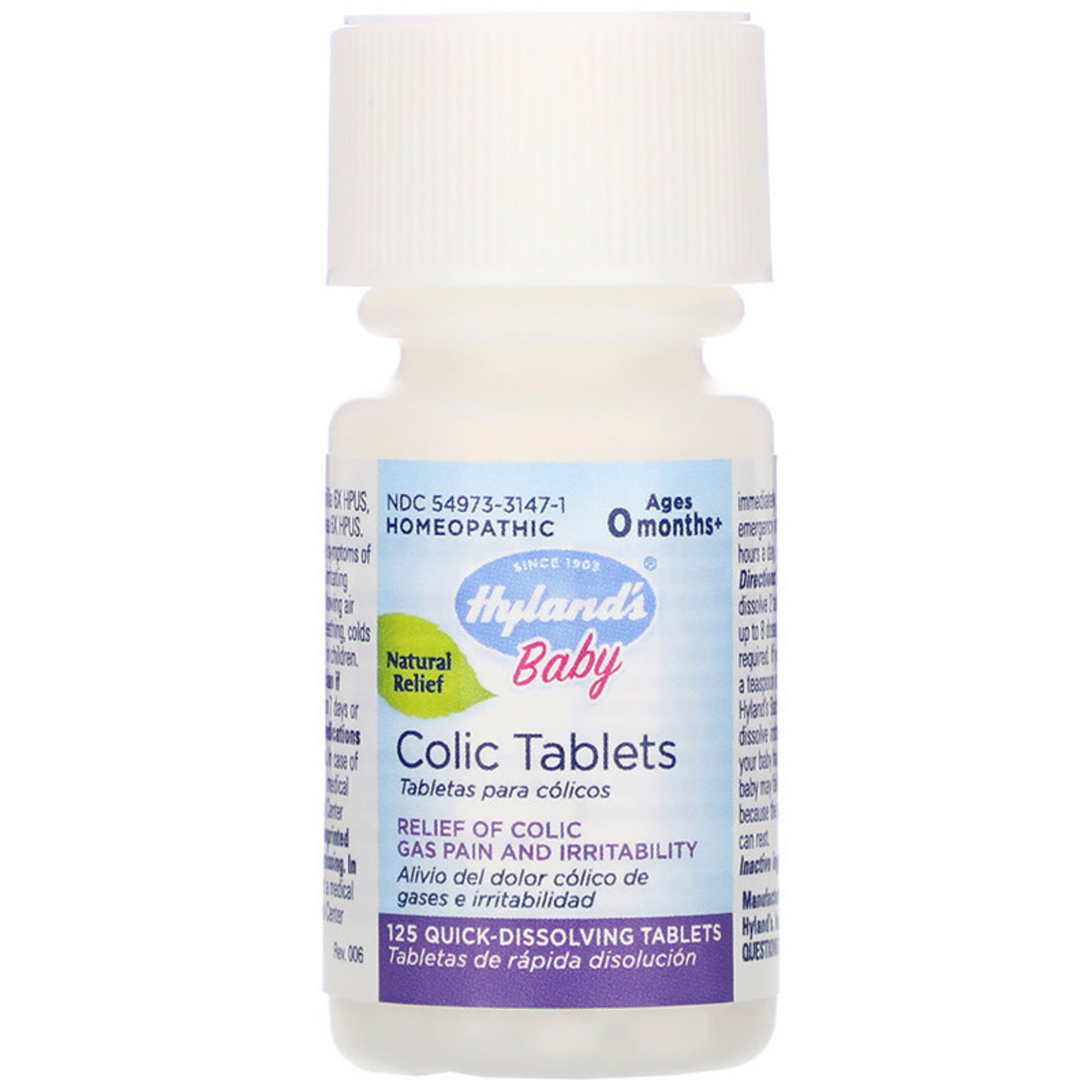 Hyland's Hyland's Baby Colic Tablets- 125 tabs