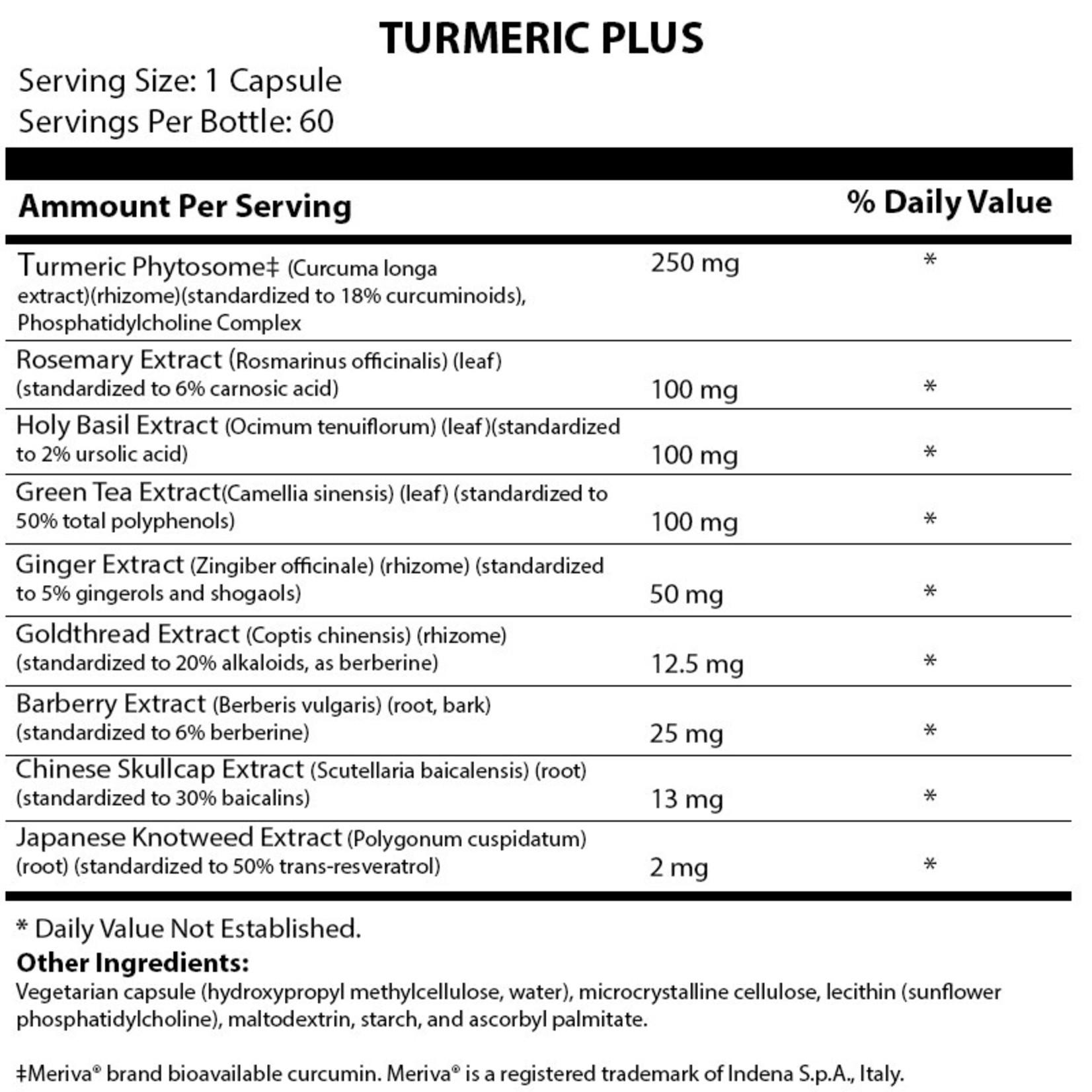 Alpine Clinic PL Turmeric Plus