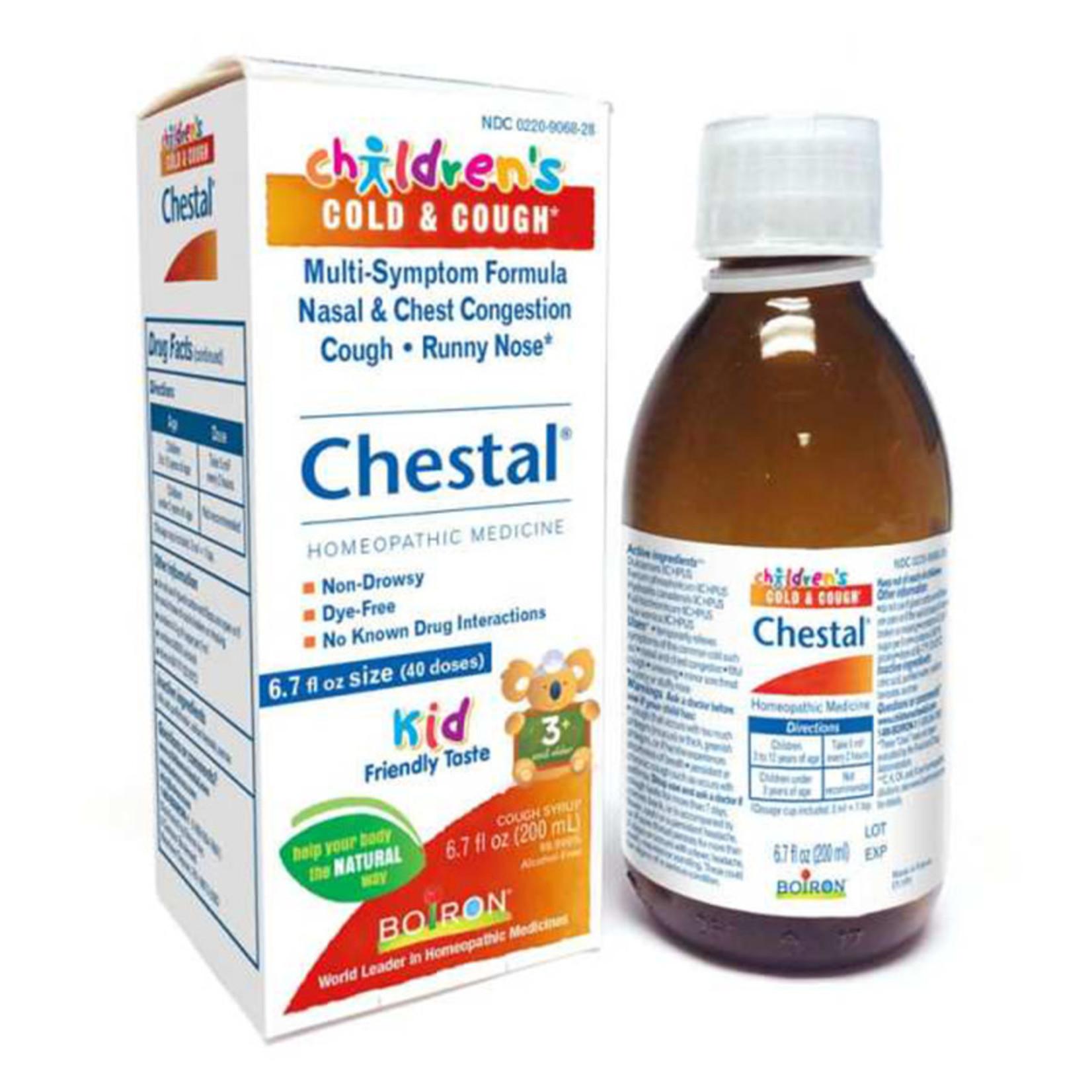 Children's Chestal - Cold & Cough