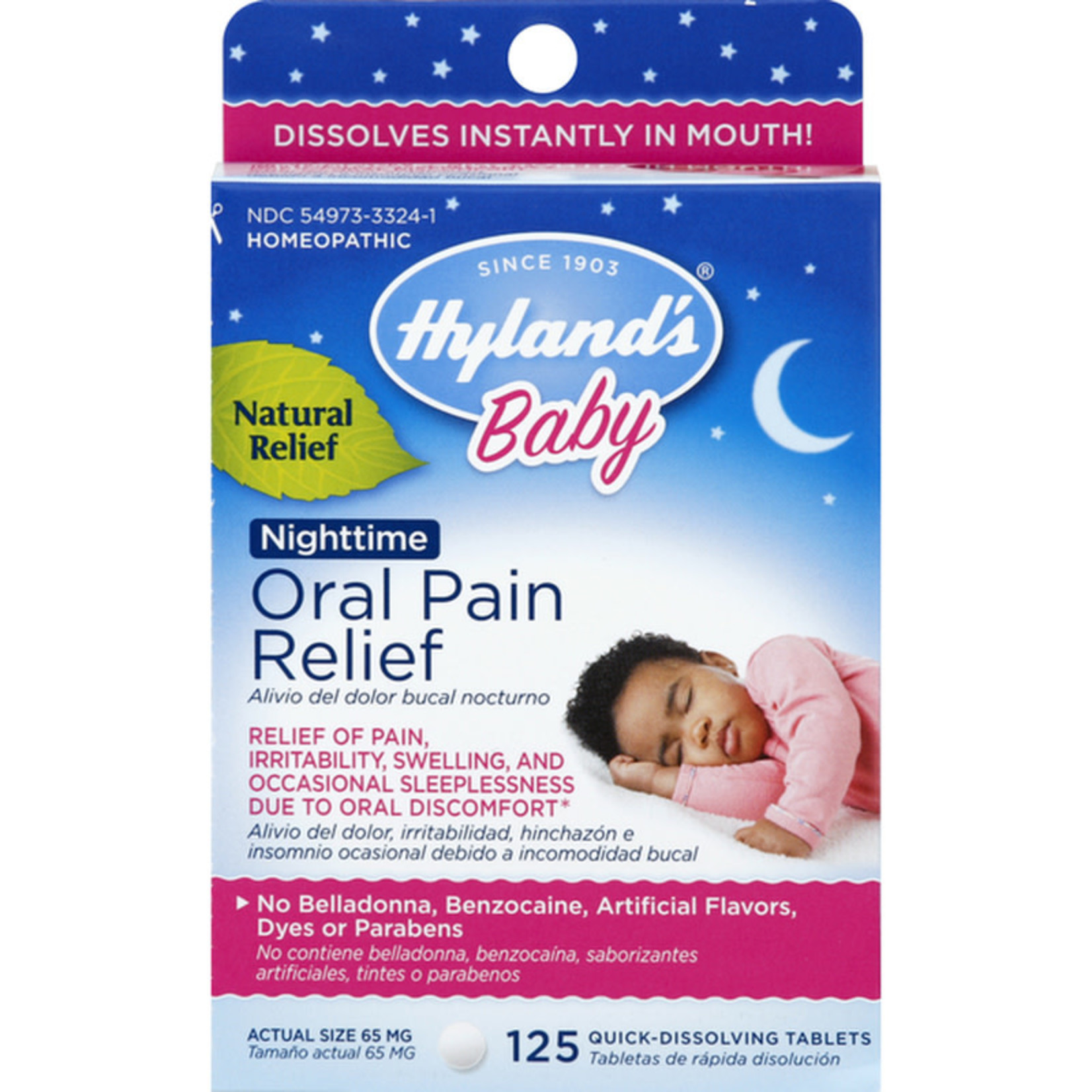 Hyland's Hyland's Baby Nighttime Oral Pain Relief Tablets