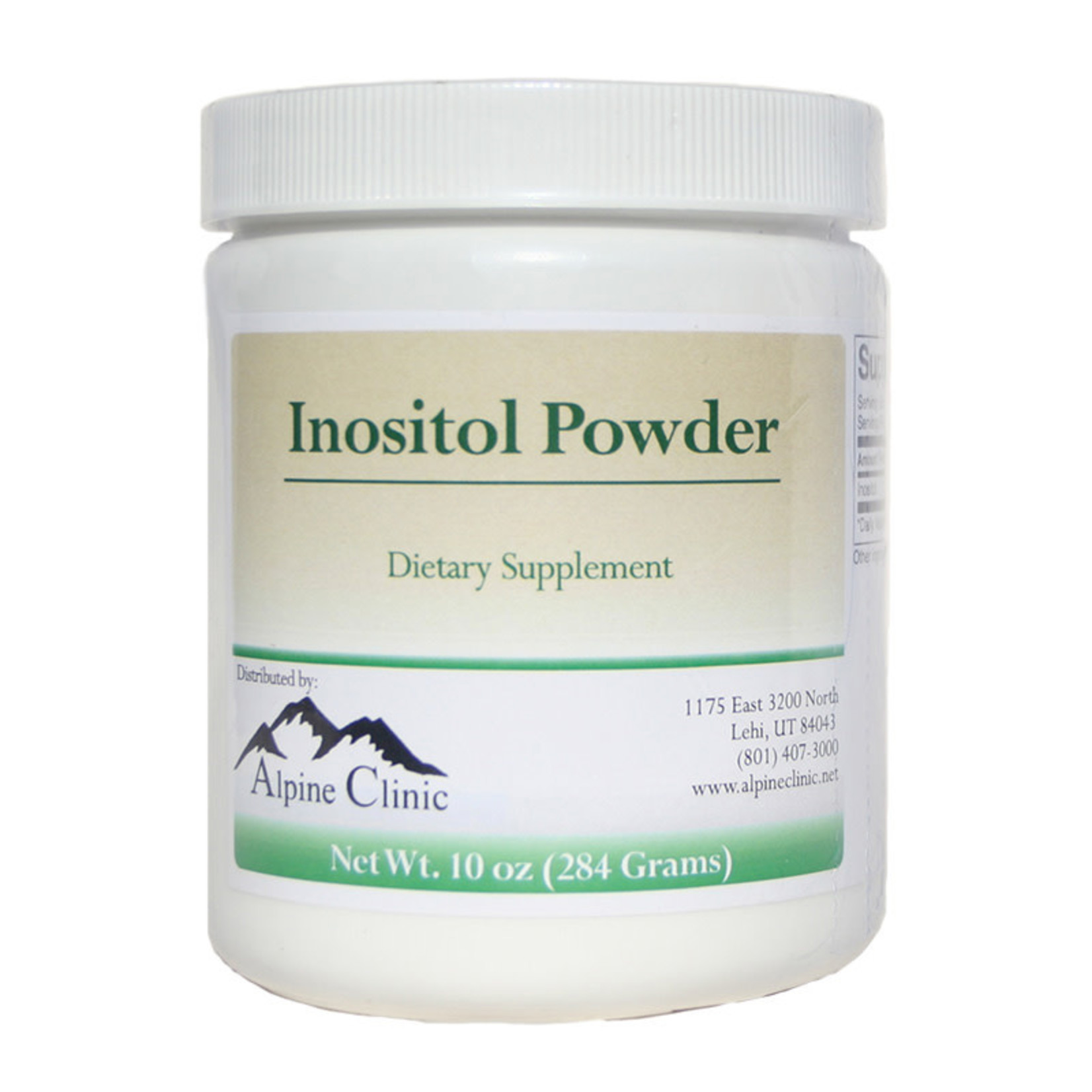 Alpine Clinic PL Inositol Powder