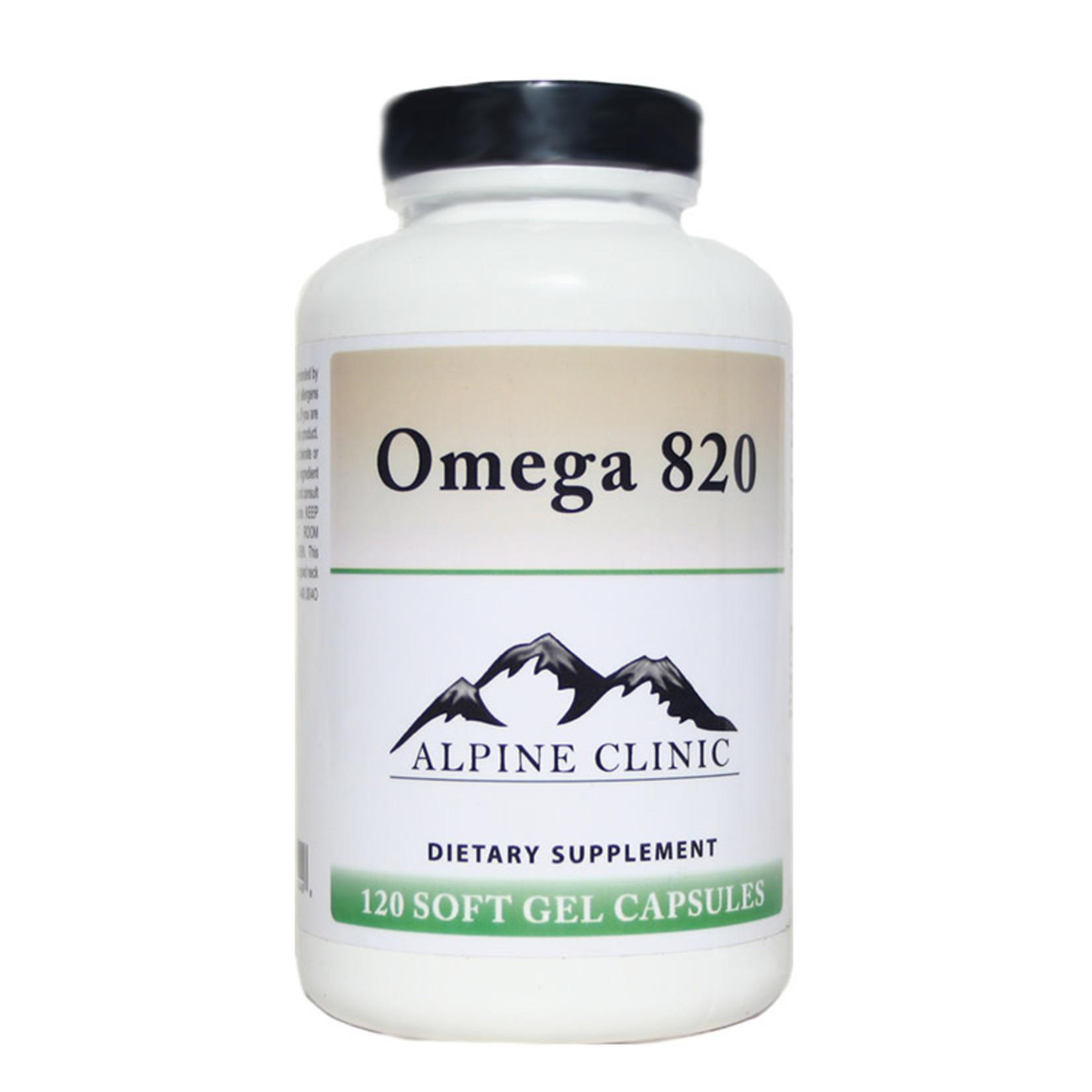Alpine Clinic Private Label Omega 820