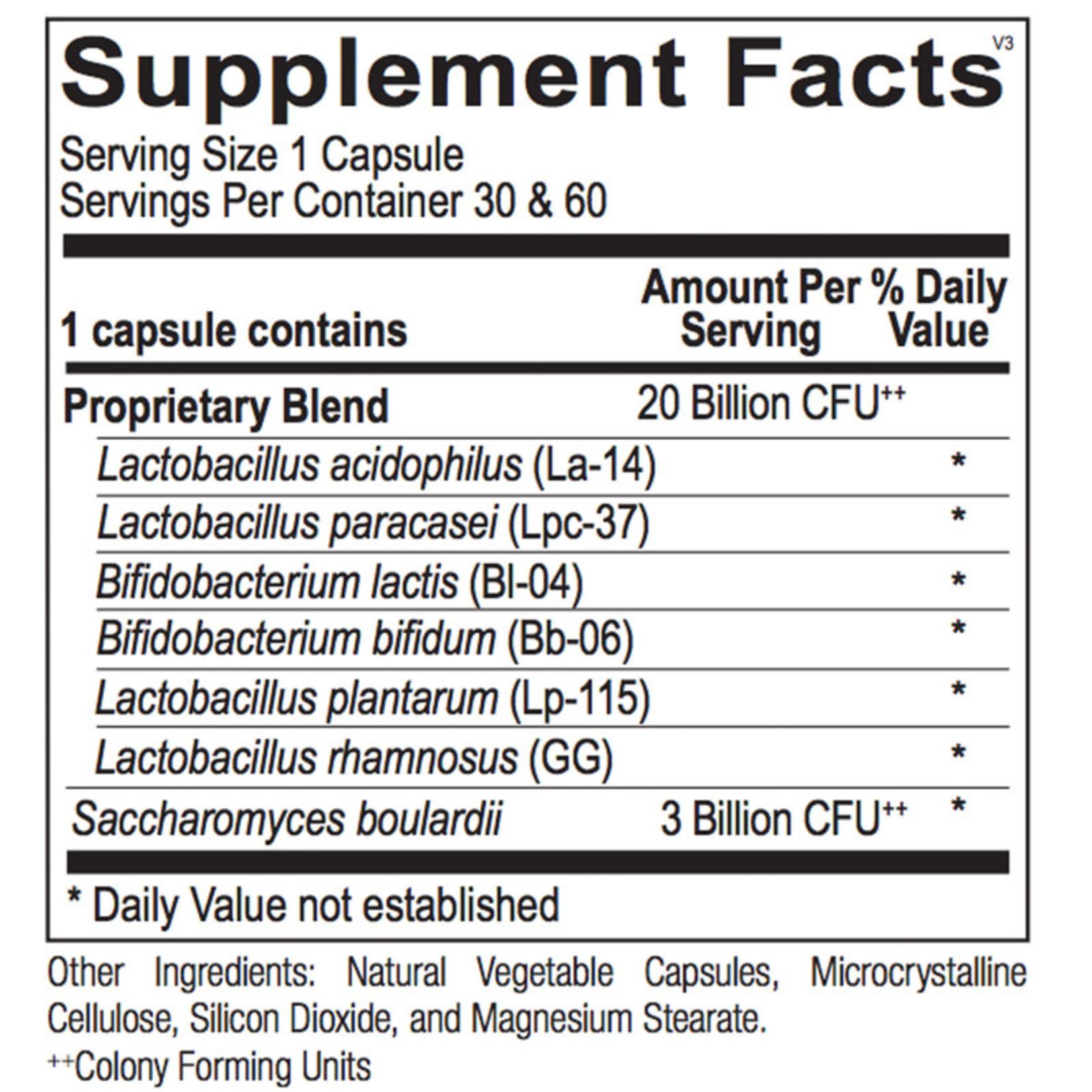 Alpine Clinic Private Label Probiotic w/ S. Boulardii