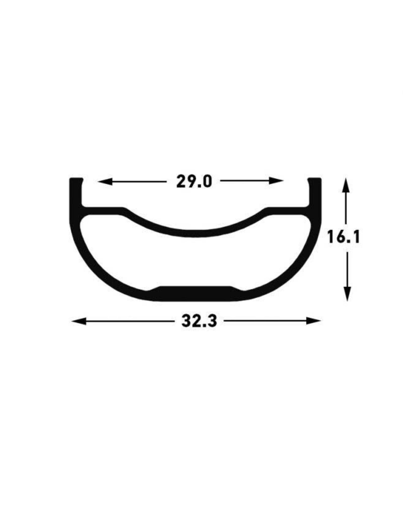 Stan's No-Tubes Stans No Tubes Flow MK3, 28H, 29, Black