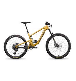 Santa Cruz 2022 Santa Cruz Bronson C, S-Build, Medium, Gold