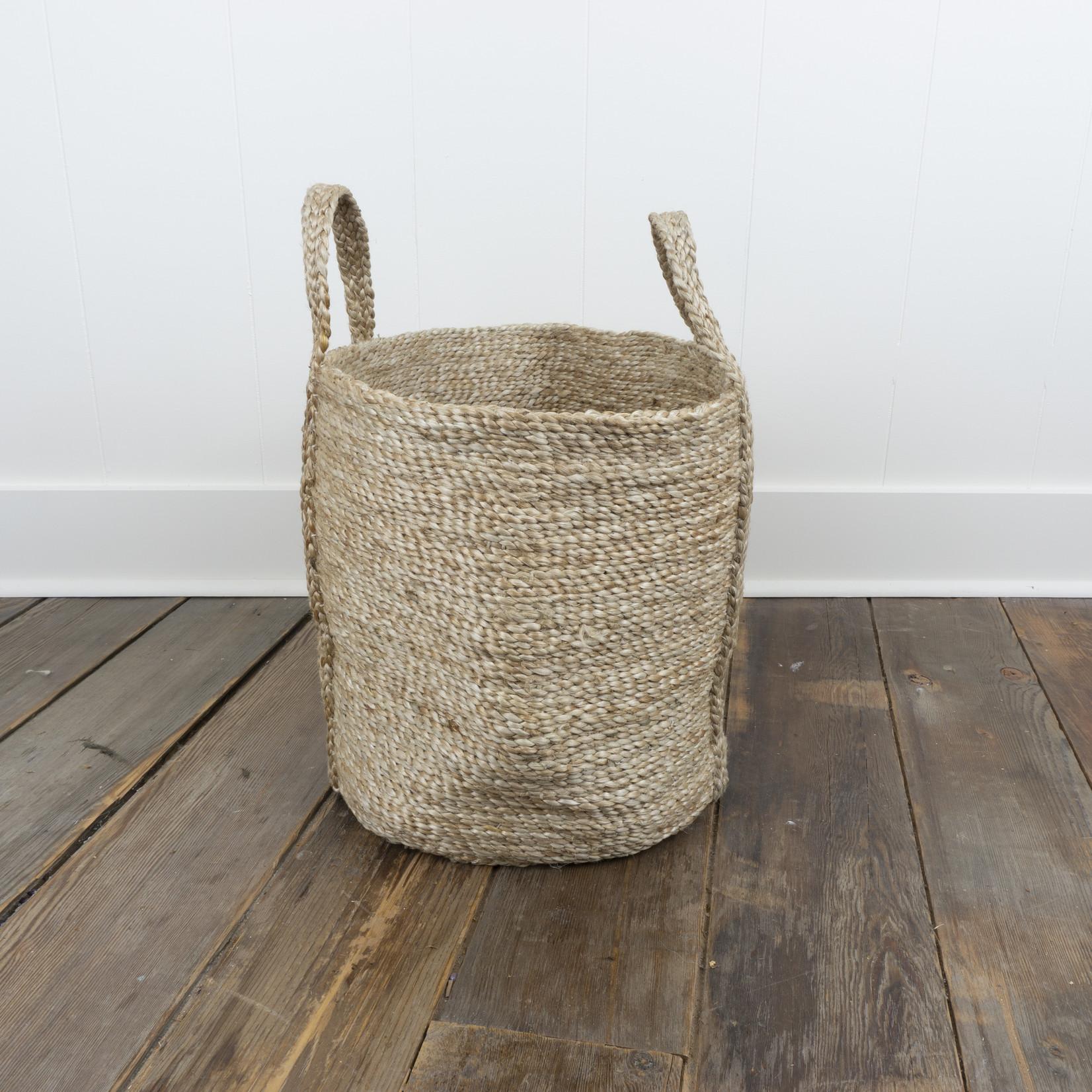 Jute Laundry Basket
